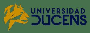 Logo Universidad Ducens horizontal transparente