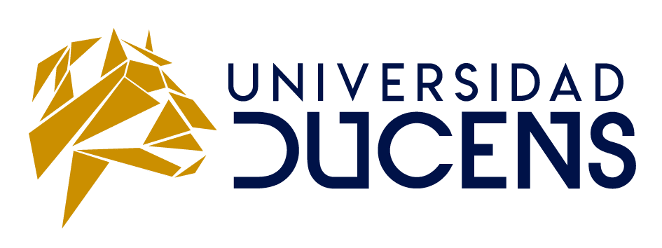 Logo Universidad Ducens horizontal transparente