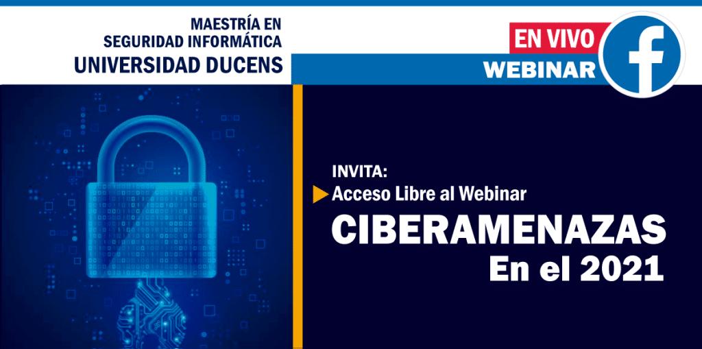 CIBERAMENAZAS - Maestría en Seguridad Informática