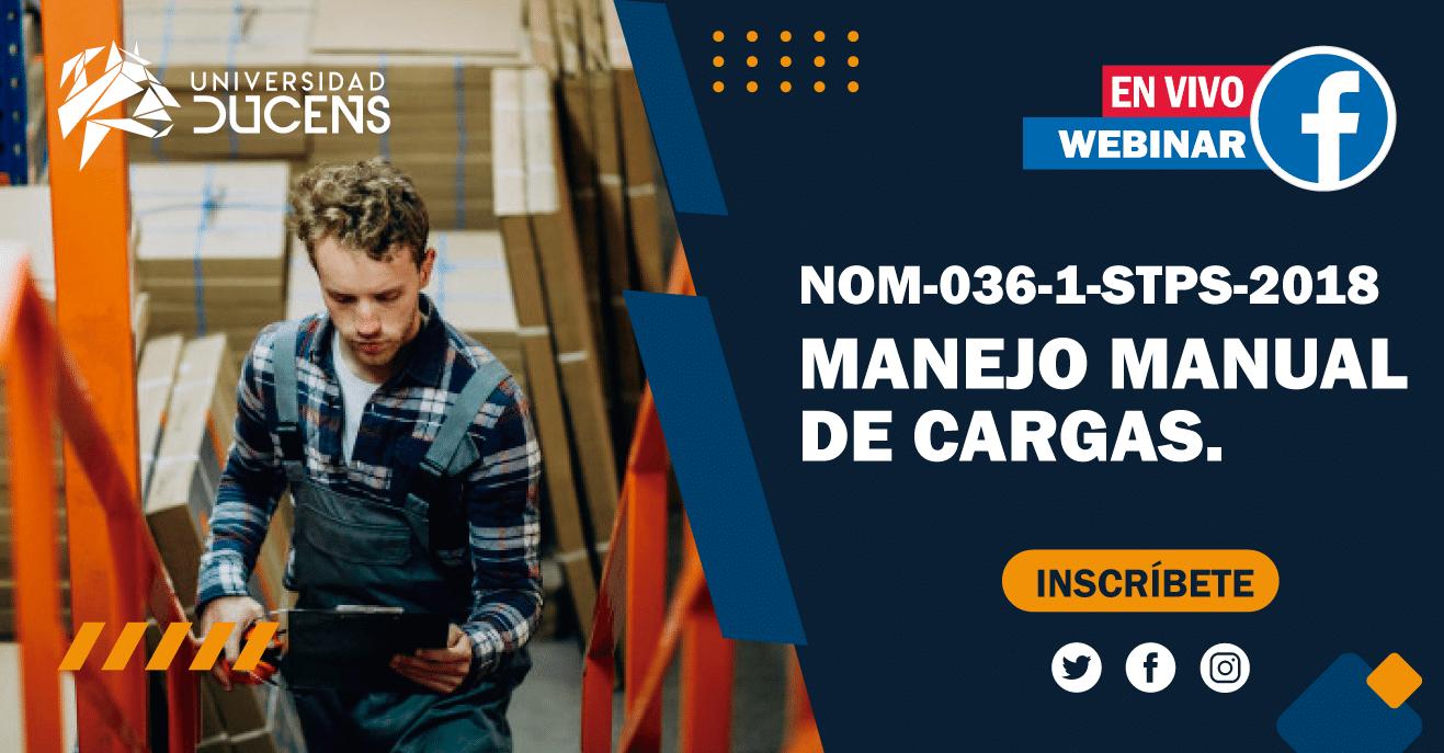 NOM-036 Manejo Manual de Cargas